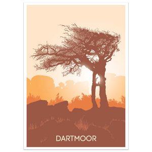 Dartmoor Sunrise Print