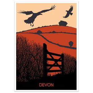 Devon Print