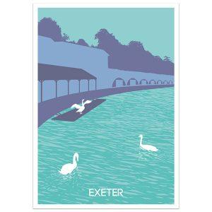 Exeter Quay Print