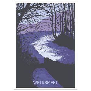 Weirsmeet Print