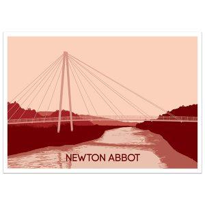 Newton Abbot Quay Print