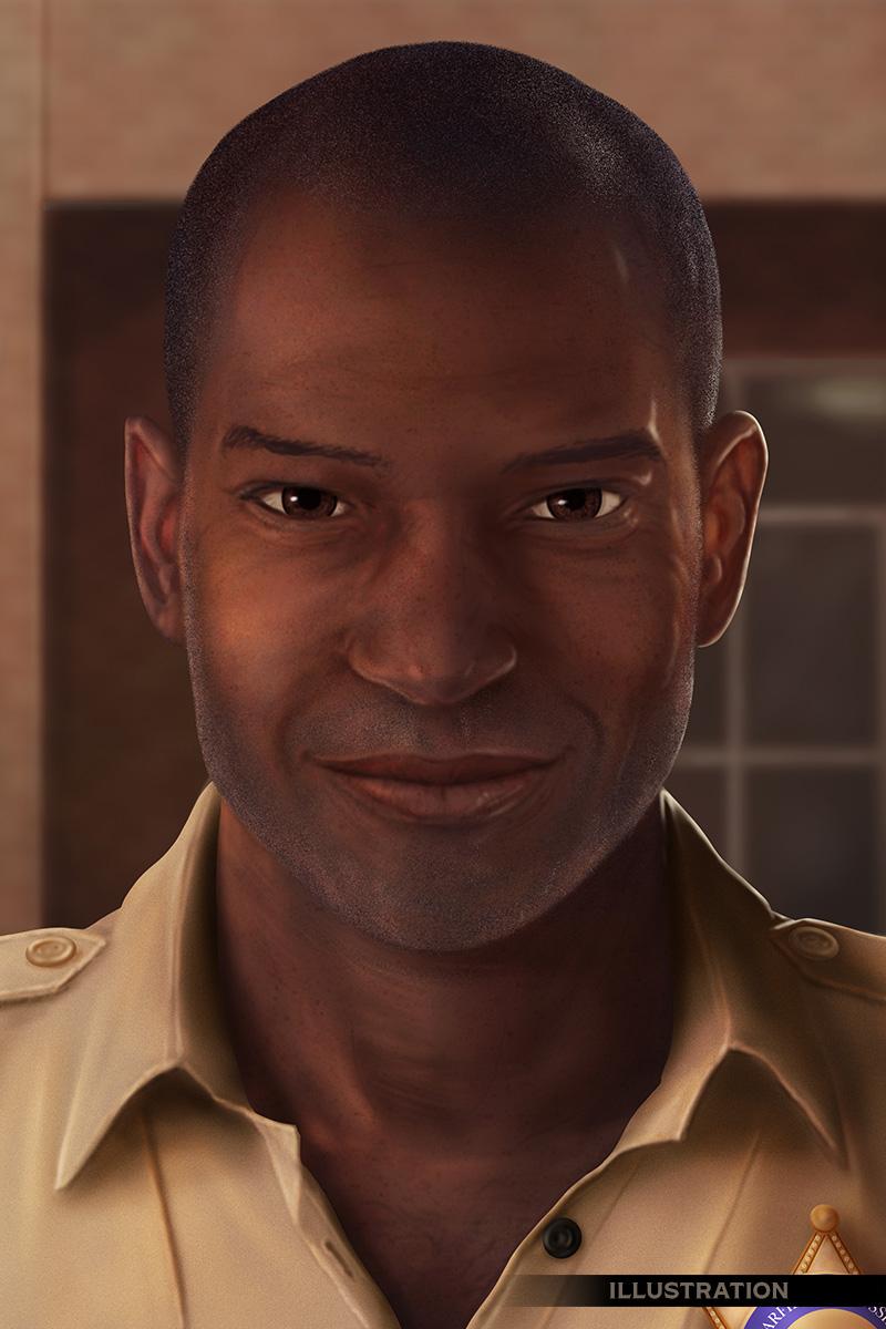 Character portrait sheriff