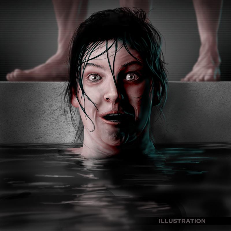 Drabblecast horror illustration